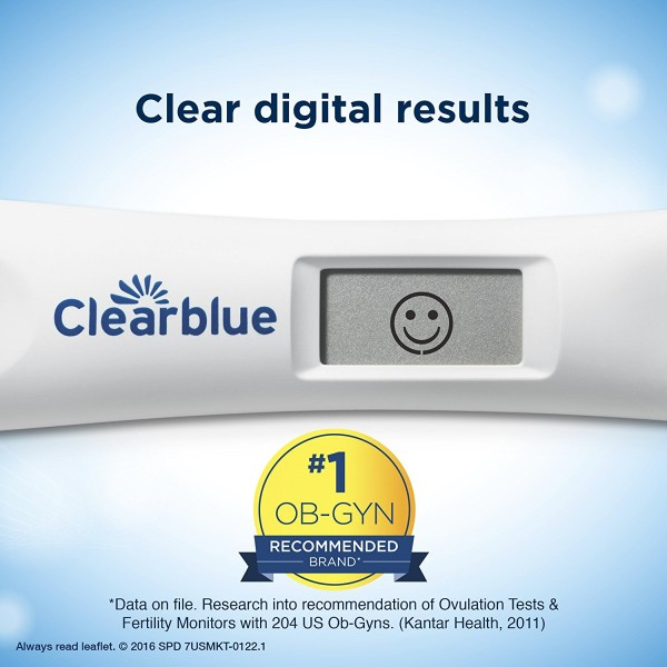 Clearblue Advanced Digital Ovulation Test, 10 Ovulation Tests2