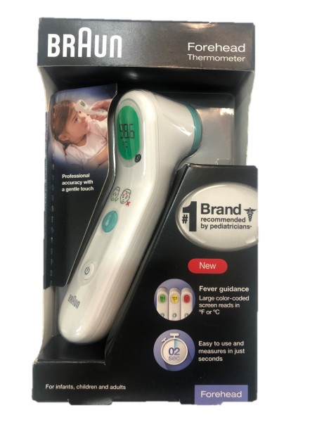 Braun Forehead Thermometer BFH175, Thermoscan1