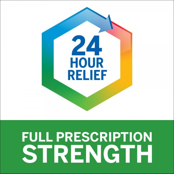 Flonase 24hr Allergy Relief Nasal Spray, Full Prescription Strength, 288 Sprays (Twinpack of 144 Sprays)6