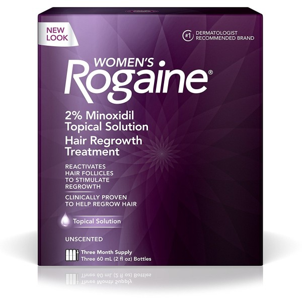 WOMENs ROGAINE® TOPICAL SOLUTION 3-MONTH SUPPLY1