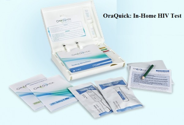 Oraquick HIV DIY Test in Home2