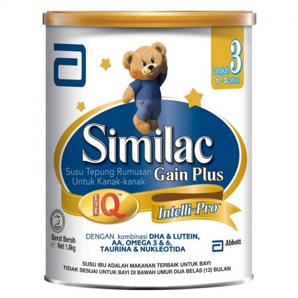 SIMILAC ® GAIN PLUS STAGE 3 1.8KG1