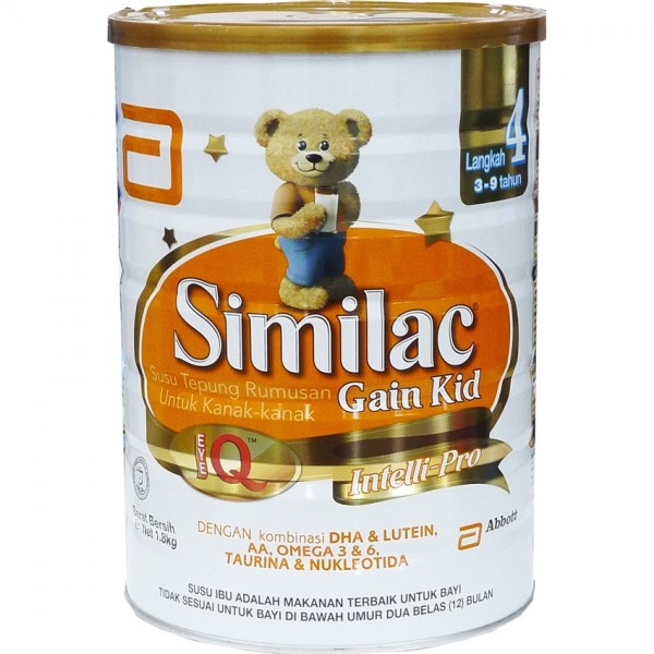 SIMILAC ® GAIN KID STAGE 4 1.8KG1